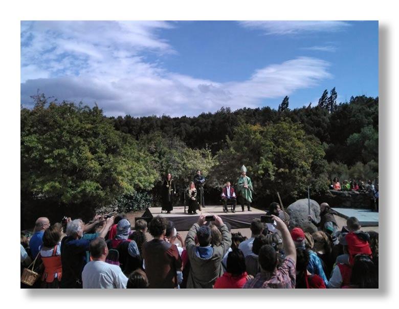Representación del Tratado de los Toros de Guisando en el Tiemblo