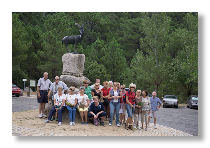 Visita al «Parque Regional de la Sierra de Gredos»