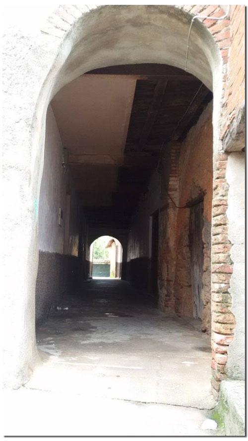 Túnel en Villanueva de la Vera