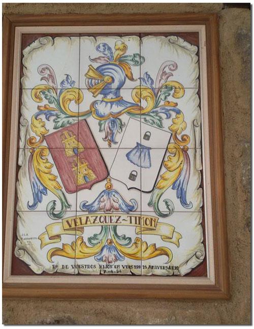 Velazquez-Timón (Escudo)