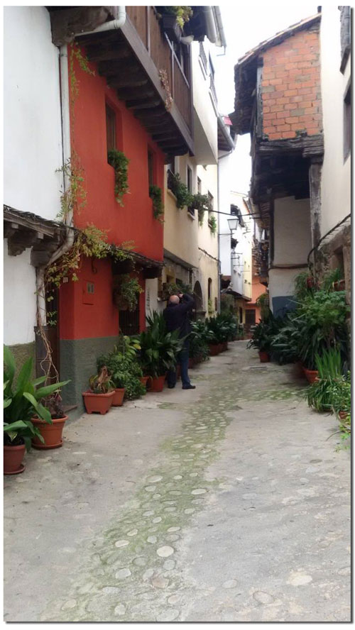 Calle Oscura en Villanueva de la Vera