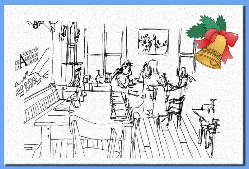 Cena de Navidad de los Amigos de La Adrada