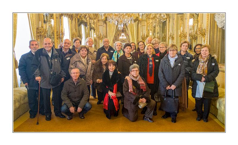 Los Amigos de La Adrada visitan el Palacio de Fernán Nuñez