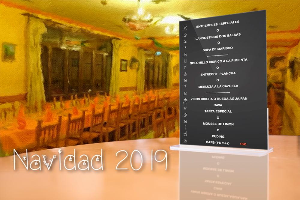 Cena de navideña 2019